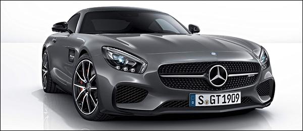 Mercedes AMG GT Edition 1 is bijzonder grijs