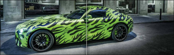 Mercedes AMG GT Preview