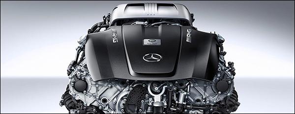 Mercedes AMG GT krijgt 510 pk uit 4.0-liter V8
