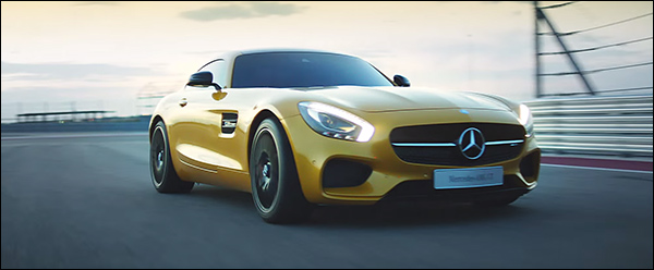 Video: Mercedes-AMG GT in volle actie
