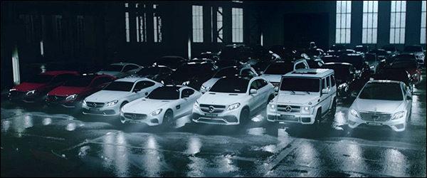 Video: De grote Mercedes-AMG familie viert feest