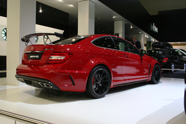 Mercedes C63 AMG Coupé Black Series