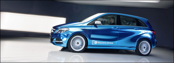 Mercedes B-Klasse Electric Drive 2014