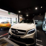 Zomerse Mercedes-AMG Performance Store in Knokke