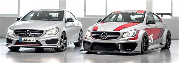 Mercedes-Benz CLA 45 AMG Racing Series + CLA 250 Sports