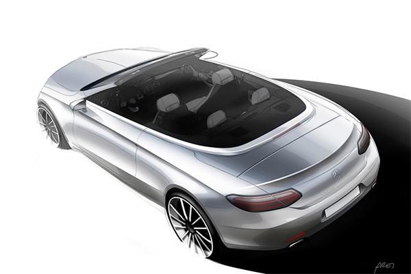 Teaser: Mercedes C-Klasse Cabriolet (A205)