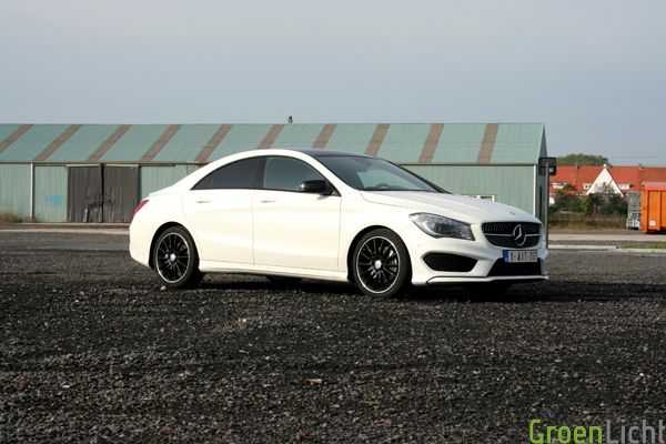 Mercedes CLA 220 CDI test