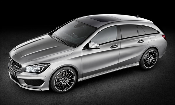 Impressie: Mercedes CLA-Klasse Shooting Brake