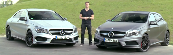 Mercedes CLA45 AMG vs A45 AMG Poll