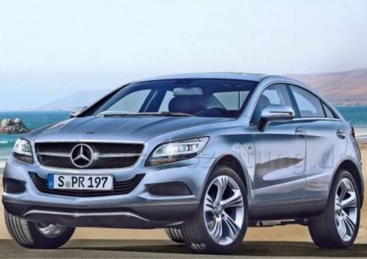 Mercedes CLG-CLS-SUV render