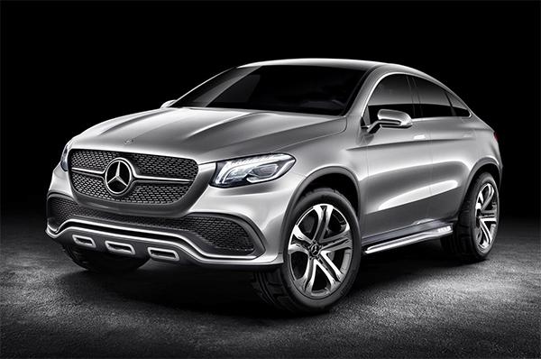 Mercedes Concept Coupe SUV is voorbode voor MLC-Klasse