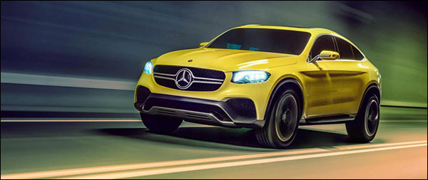Officieel: Mercedes Concept GLC Coupé