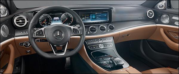 Dit is het interieur van de nieuwe Mercedes E-Klasse (2016 ...