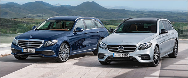 Officieel: Mercedes E-Klasse Break + E43 AMG (2016)