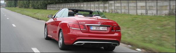 Mercedes E-Klasse Cabrio test