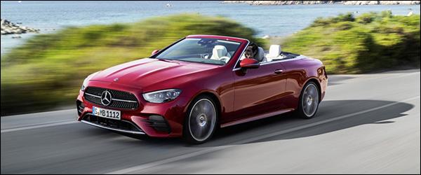 Officieel: Mercedes E-Klasse Coupe + E-Klasse Cabriolet facelift (2020)