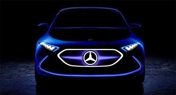 Teaser: Mercedes Concept EQ A (2017)