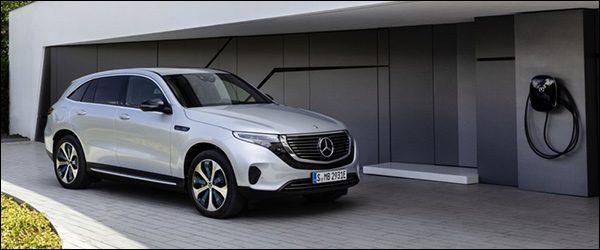 Officieel: Mercedes EQC EQC400 4Matic (2018)
