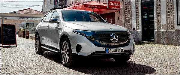 Belgische prijs Mercedes EQC EQC400 4MATIC (2019): vanaf 79.860 euro