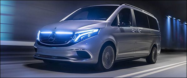 Officieel: Mercedes-Benz EQV Concept (2019)