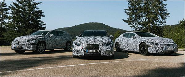 Mercedes werkt aan zuiver elektrische EQS, EQA, EQB, EQE, EQE SUV, EQS SUV (2020)