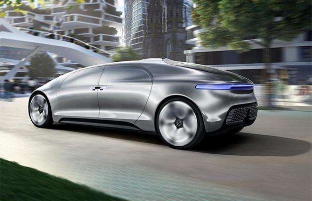 Mercedes F 015 Luxury in Motion Concept is de toekomst ...
