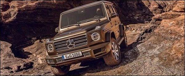Dit is de nieuwe Mercedes G-Klasse (2018)!