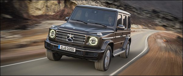 Officieel: Mercedes G-Klasse G500 4x4 W464 (2018)