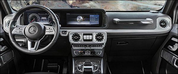 Preview: interieur nieuwe Mercedes G-Klasse W465 (2018)