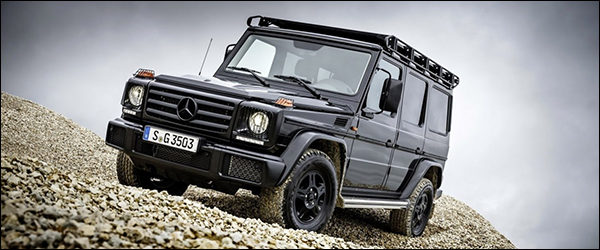Officieel: Mercedes G350d Professional [245 pk / 600 Nm]