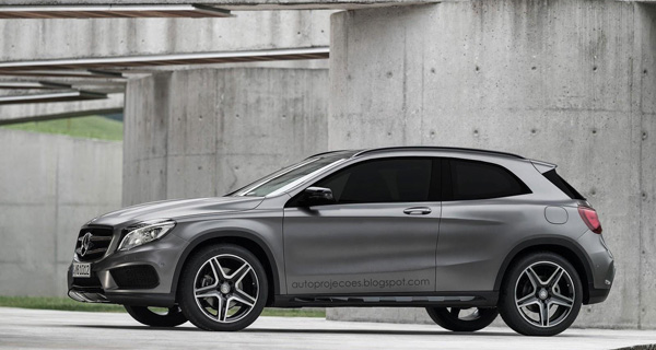 Mercedes GLA Coupe Full Size