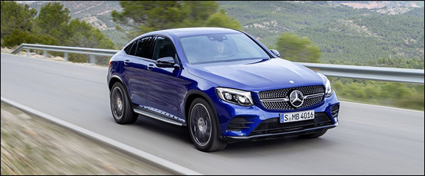 Officieel: Mercedes GLC-Klasse Coupé SUV