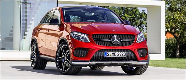 Officieel: Mercedes GLE Coupé - Belgische prijs vanaf €67.276