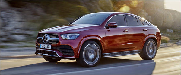 Officieel: Mercedes GLE Coupe (2019)