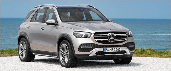 Belgische vanafprijs Mercedes GLE SUV (2018): vanaf 67.276 euro