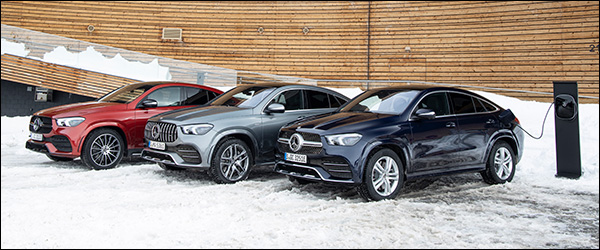 Officieel: Mercedes GLE350de Coupe plug-in hybride (2019)