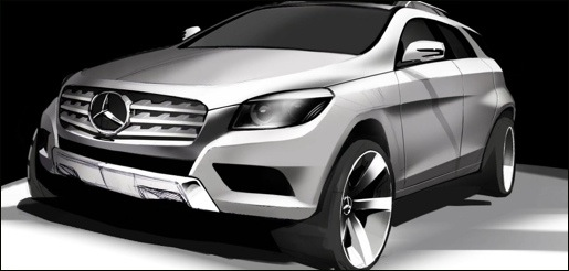 Mercedes ML Coupe