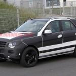 Mercedes ML Facelift