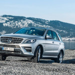 Mercedes ML-Klasse fleurt Zweden wat op