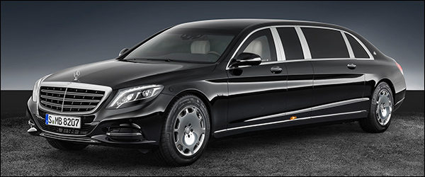 Officieel: Mercedes-Maybach S600 Pullman Guard [530 pk / 830 Nm]