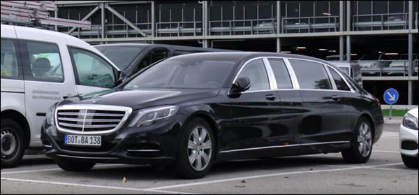 Video: Mercedes-Maybach S600 Pullman vraagt om parkeerstress