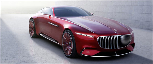 Officieel: Mercedes-Maybach Vision 6 Concept