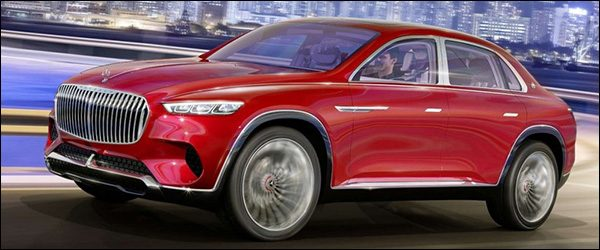 Preview: Mercedes-Maybach Vision Ultimate Luxury (2018)