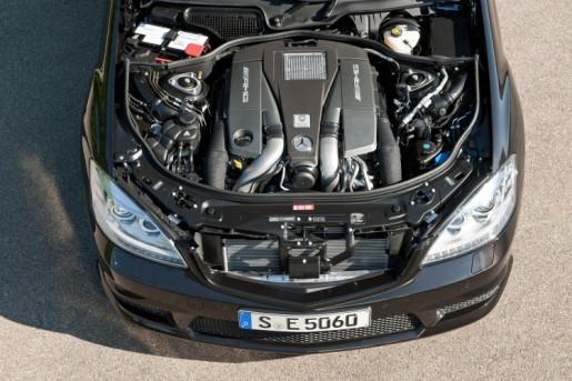 S 63 AMG Engine