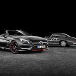 Mercedes SL 417 Mille Miglia eert het succesvolle raceverleden