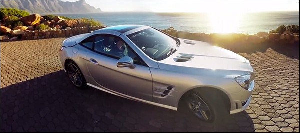 Video: Mercedes SL63 AMG promoot Zuid-Afrika