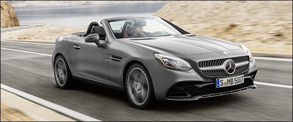 Officieel: Mercedes SLC-Klasse Roadster + SLC43 AMG