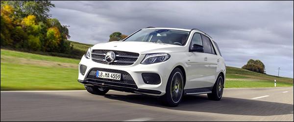 Officieel: Mercedes GLE450 AMG [367 pk / 520 Nm]