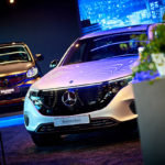 Zomerse Mercedes EQ SummerStore in Knokke (2019)