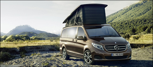 Mercedes V-Klasse Marco Polo: kamperen in stijl